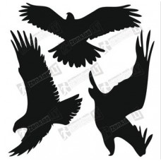 Lipdukas apsaugai nuo paukščių atsitrenkimo į langus