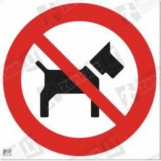 Su šunimi įeiti draudžiama