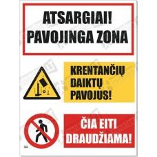 Atsargiai! Pavojinga zona