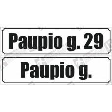 Gatvės pavadinimo lentelė