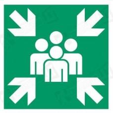 Evakuacijos susirinkimo vieta (E007)