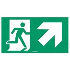 Išėjimas aukštyn į dešinę