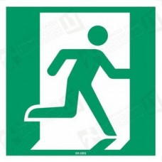 Evakuacinis išėjimas į dešinę (E002)