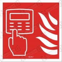 Priešgaisrinės signalizacijos pultas