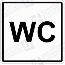 Sanitarinio mazgo simbolis (Viešasis tualetas) WC