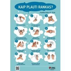 Kaip plauti rankas?