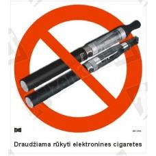 Draudžiama rūkyti elektronines cigaretes