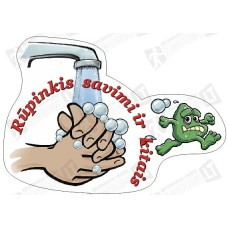 Rūpinkis  savimi ir  kitais, plauk rankas